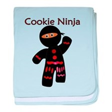 Cookie Ninja baby blanket