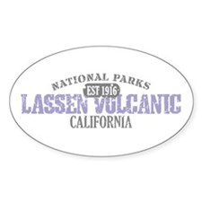 Lassen Volcanic National Park Decal