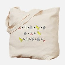 Rock Paper Scissors Lizard Sp Tote Bag