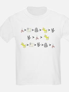 Rock Paper Scissors Lizard Sp T-Shirt