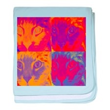 Tigre Retro baby blanket