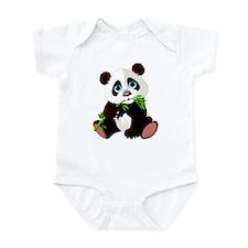 Unique Panda wall Infant Bodysuit
