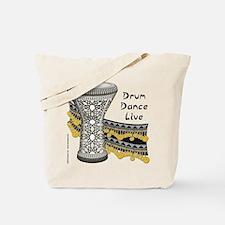 Drum Dance Live Tote Bag