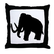 Mammoth Throw Pillow