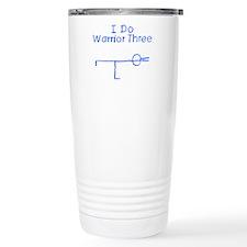 Blue Warrior Three Travel Mug