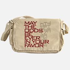 Hunger Games words Messenger Bag