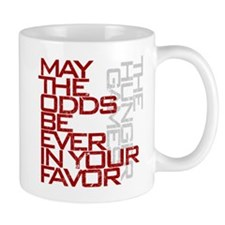 Hunger Games words Small Mugs
