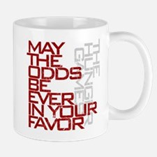 Hunger Games words Small Small Mug