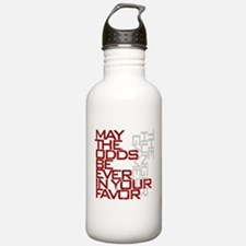 Hunger Games words Sports Water Bottle
