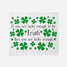 Luck of the Irish Throw Blanket