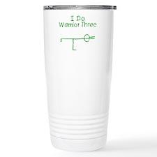 Green Warrior Three Travel Mug