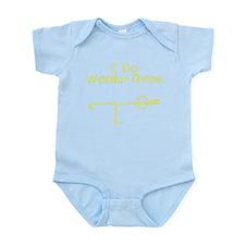 Yellow Warrior Three Infant Bodysuit