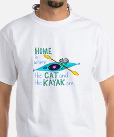 homekayakcat4dark T-Shirt