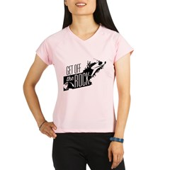 Get Off The Rock Performance Dry T-Shirt