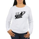 Get Off The Rock Women's Long Sleeve T-Shirt