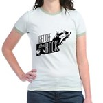 Get Off The Rock Jr. Ringer T-Shirt