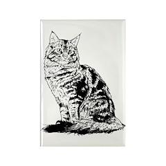 Feline - Rectangle Magnet