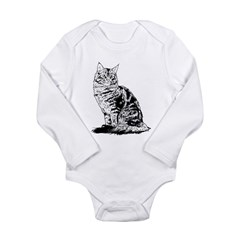 Feline - Long Sleeve Infant Bodysuit