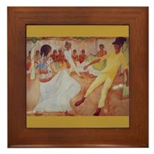 Diego Rivera Dance Art Framed Tile