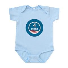 4 More Obama Infant Bodysuit
