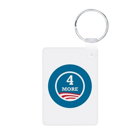 4 More Obama Aluminum Photo Keychain
