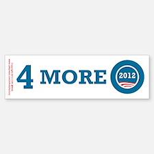 4 More Obama Bumper Bumper Sticker