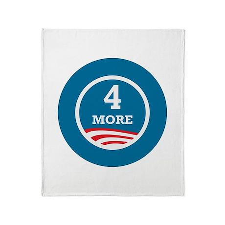 4 More Obama Throw Blanket