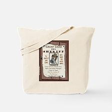 Great Dane (Brindle) Tote Bag