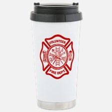 VOLUNTEER FIRE Stainless Steel Travel Mug