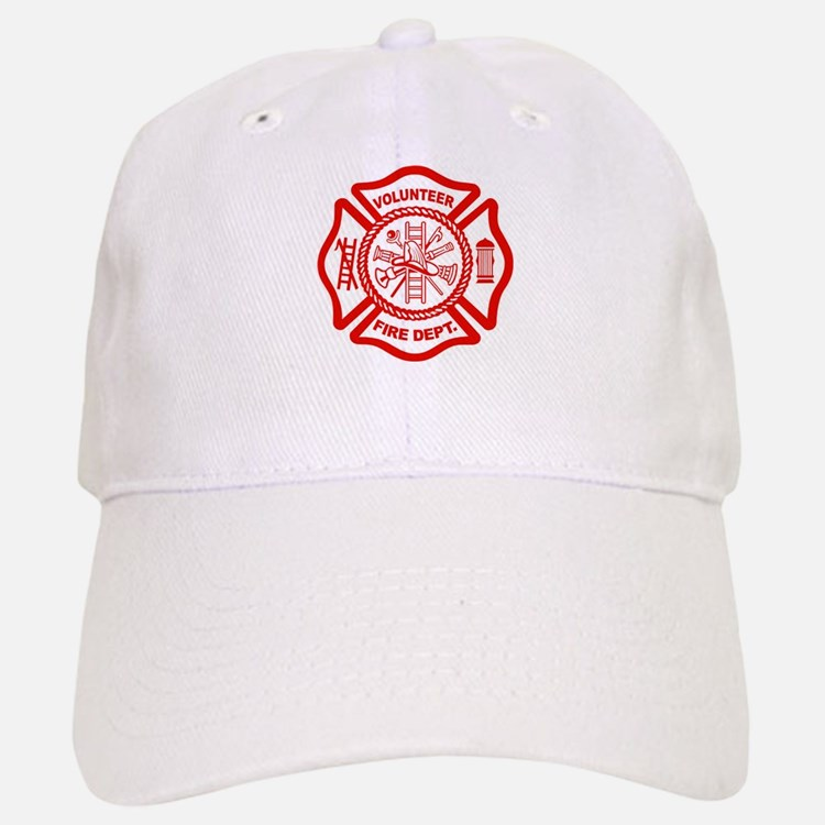 VOLUNTEER FIRE Baseball Baseball Cap