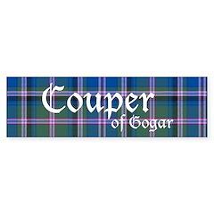Tartan - Couper of Gogar Bumper Sticker