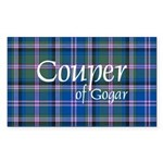 Tartan - Couper of Gogar Sticker (Rectangle 50 pk)