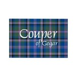 Tartan - Couper of Gogar Rectangle Magnet