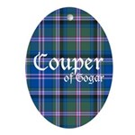 Tartan - Couper of Gogar Ornament (Oval)