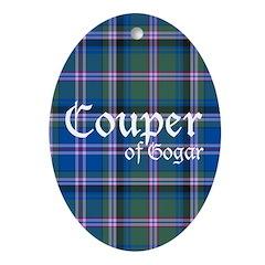 Tartan - Couper of Gogar Ornament (Oval)
