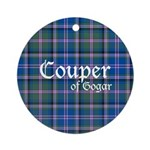 Tartan - Couper of Gogar Ornament (Round)