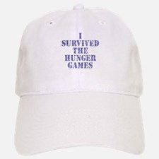 I SURVIVED THE HUNGER GAMES Baseball Baseball Cap