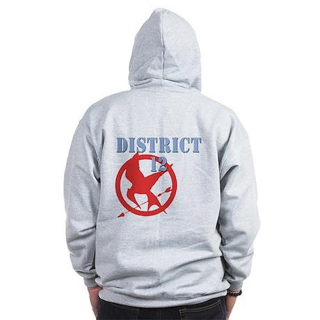 District 12 Hunger Games Zip Hoodie