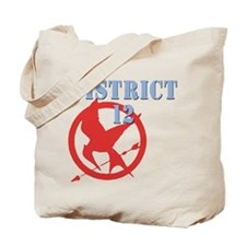 District 12 Hunger Games Tote Bag