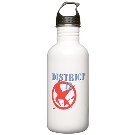 District 12 Hunger Games Stainless Water Bottle 1.