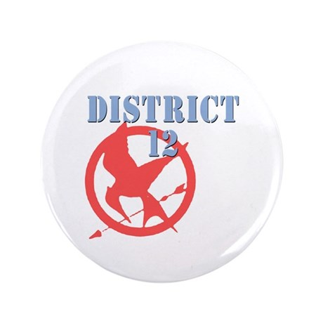 """District 12 Hunger Games 3.5"""" Button (100 pack)"""