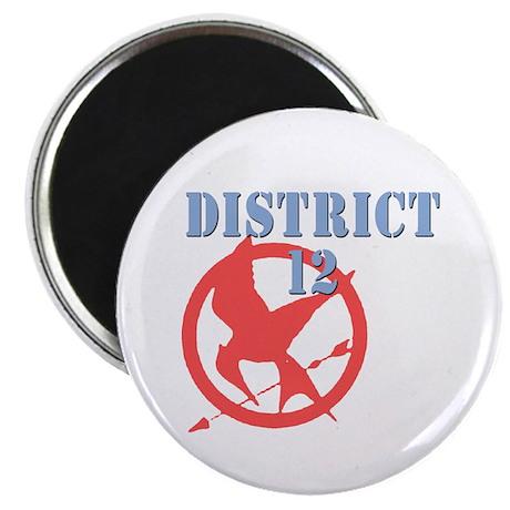 District 12 Hunger Games Magnet