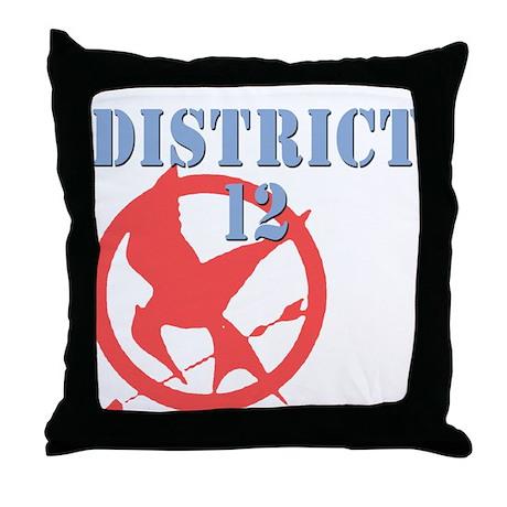 District 12 Hunger Games Throw Pillow