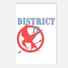 District 12 Hunger Games Postcards (Package of 8)