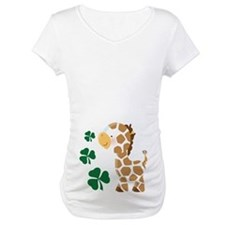 Irish Giraffe St Patrick Shirt