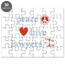 Peace, Love and Lawyers Puzzle