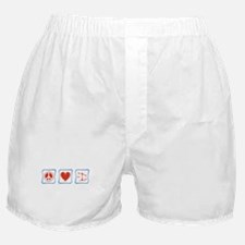 Peace, Love and Lawyers Boxer Shorts