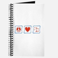 Peace, Love and Lawyers Journal