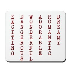 E D W A R D Mousepad