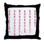 E D W A R D Throw Pillow